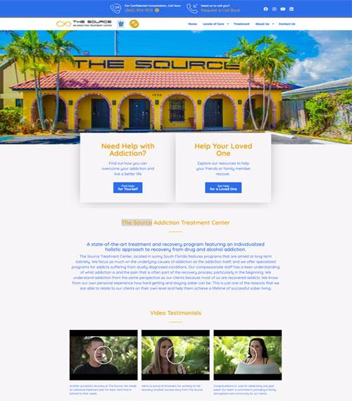 thesource website development
